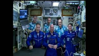 Expedition 56-57 Crew Docks to the Space Station