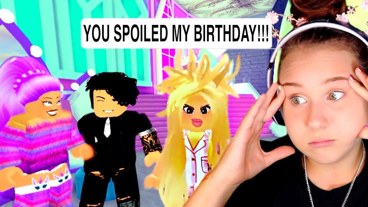 My Hater SPOILED MY BIRTHDAY With The WORST Makeover Ever! Roblox Royale  High Roleplay