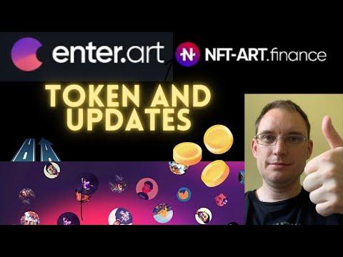 Token, Q&A, Latest Updates - NFT Art Finance Enter.art