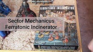 Sector Mechanicus Ferratonic Incinerator Warhammer 40000