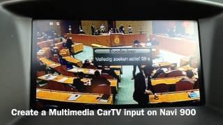 CarVision Vauxhall Opel Navi 900 Camera/Multimedia Interface