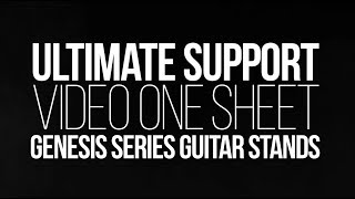 Genesis Series Guitar Stands from Ultimate Support