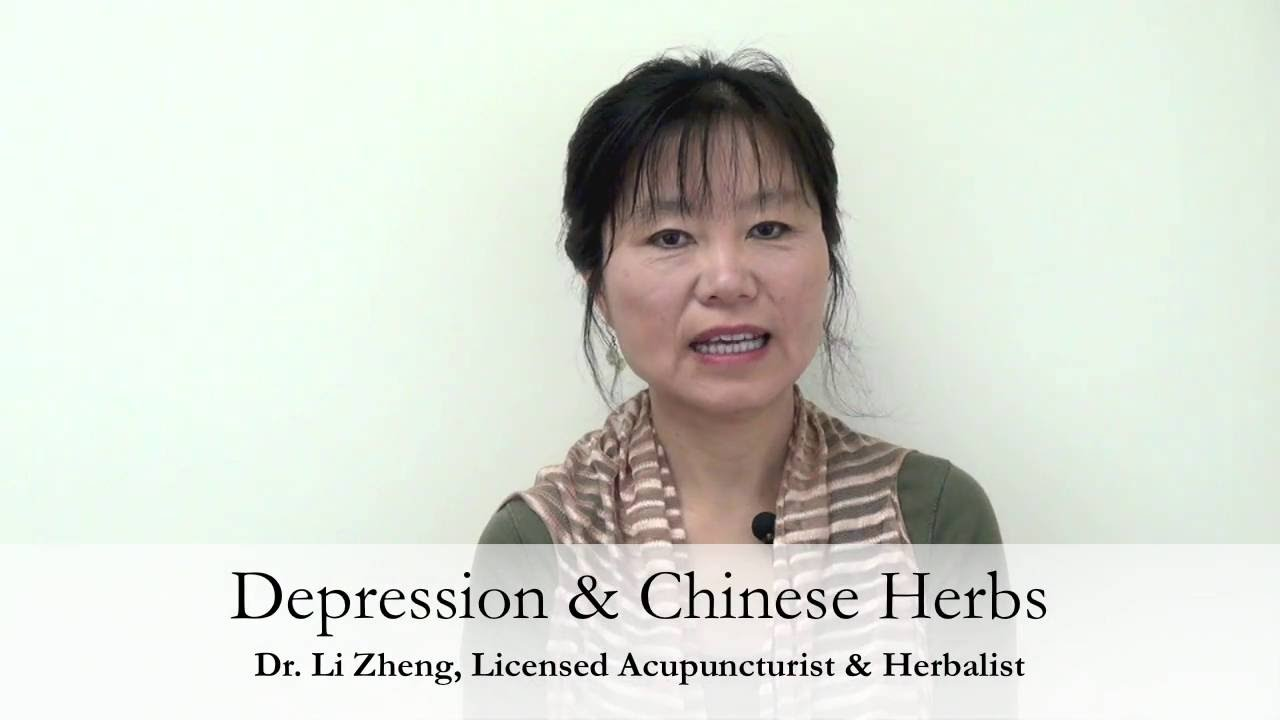 Using Chinese Herbs to Treat Depression - YouTube