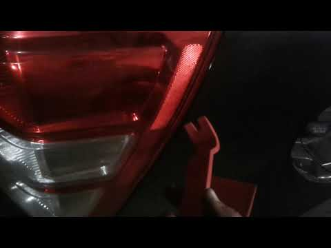 Как снять задний фонарь на сузуки гранд витара