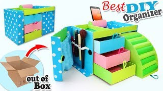 DIY ADORABLE ORGANIZER BOX USEFUL EVER // 32 Compartment for Keeping Everything
