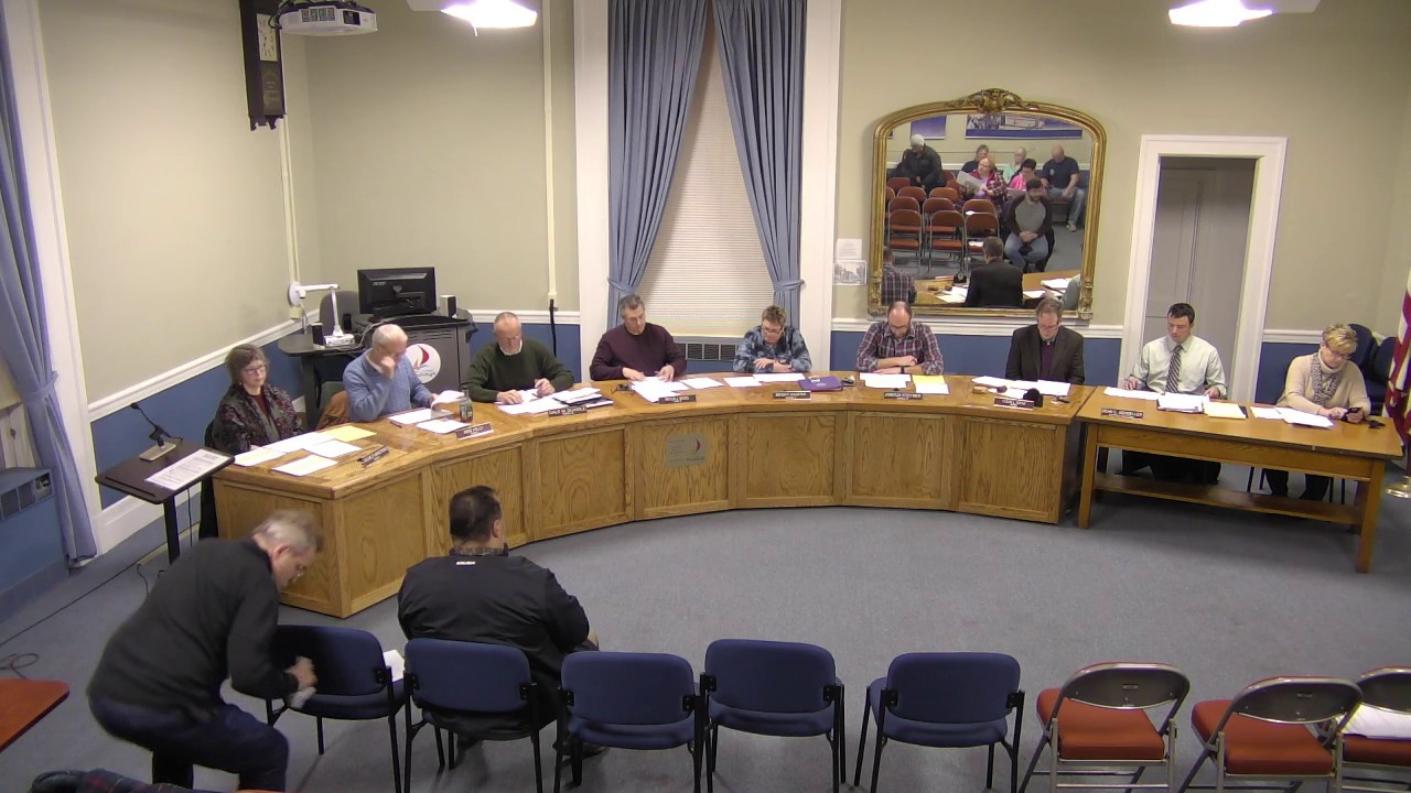 City of Plattsburgh, NY Common Council Meeting  1-10-17