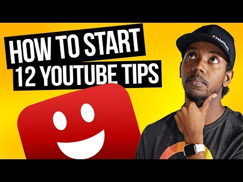 HOW TO GET STARTED ON YOUTUBE: 12 TIPS FOR SMALL YOUTUBERS