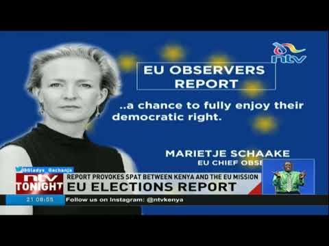 EU report on Kenyan election provokes spat