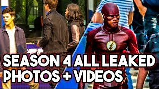 Flash Season 4 All Leaked Photos + Videos !!! Leaked Footage ! New Villains ! Iris Kidnapped ! S4