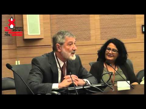 Good Vs. Evil - A debate in the Knesset between Dr. Helfand and MK Feiglin of the Likud Party