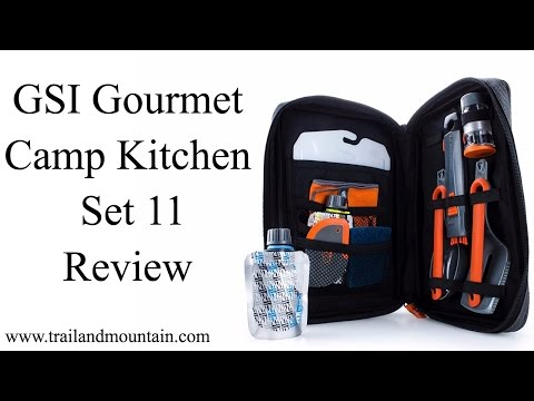 GSI Outdoors Gourmet Camp Kitchen 11 Review