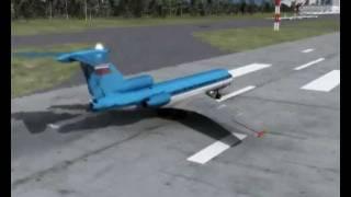 Полная 3D реконструкция крушения ЯК-42 под Ярославлем