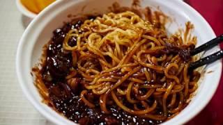 Cara membuat jajangmyeon mie hitam dari korea