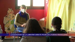 Yvelines | La quinzaine de la librairie débute pour les lycéens franciliens