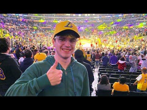 LA MIA PRIMA PARTITA NBA: Los Angeles Lakers e LeBron James 🔥