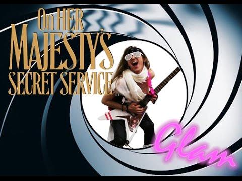 James Bond - On Her Majesty's Secret Service Theme Metal Cover