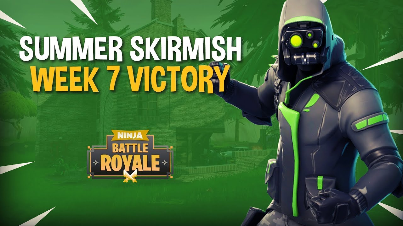 Summer Skirmish Week 7 Victory!! - Fortnite Tournament Gameplay - Ninja & Dr Lupo