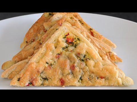 sandwich-grillÉ-À-une-tranche-en-5-min-/-recette-facile