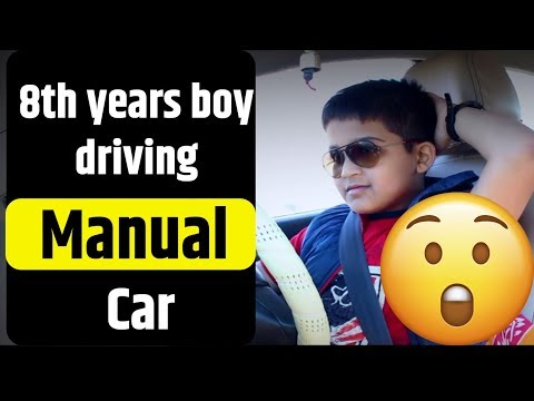 Indian 8 years young boy driving a car on National Highway    incredible india   