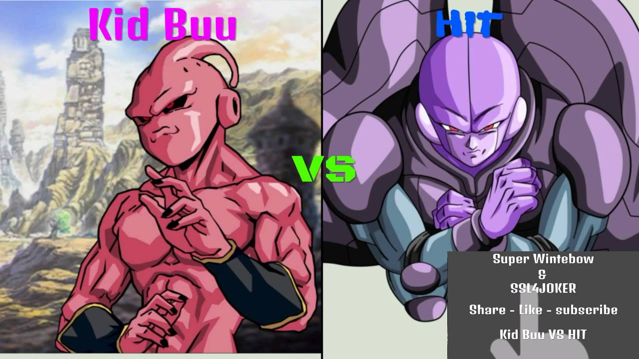 Dragon Ball Super Kid Buu Vs Hit What If Battle