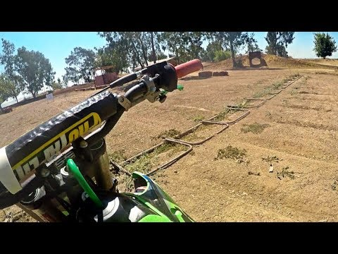 Father Son Dirt Bike Race at Cycleland Speedway