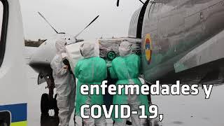 Salvar vidas es una constante misión de su Fuerza Aérea Colombiana