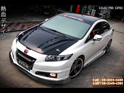 ชุดแต่ง Civic FB CRC จาก Nekketsu Racing