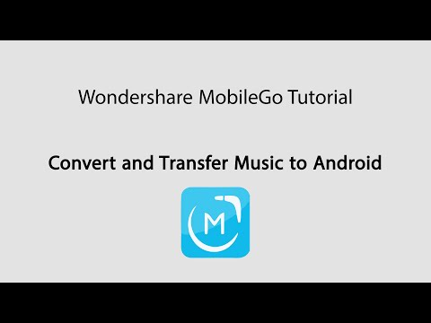 MobileGo: Convert Music Format And Transfer Music From Computer To Android