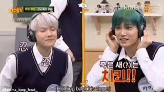 Kpop idols Whispering game😂Exo,Twice,Bts,Infinite😂Kai,Baekhyun,Suho,Dahyun,Jyp,Jin,Dongwoo😂Status