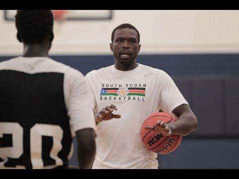 DENG Camp   South Sudan Basketball