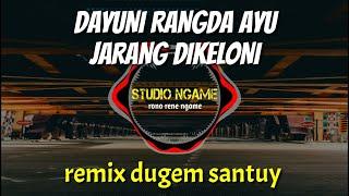 VIRAL!!! DJ DUGEM SANTUY DAYUNI RANGDA AYU JARANG DIKELONI REMIX TERBARU 2020