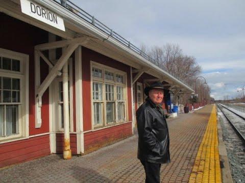 Waiting at the Railroad Station