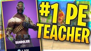 $5,000 KEEMSTAR TOURNEY PRACTICE | #1 Ranked PE Teacher (Fortnite Battle Royale Live)
