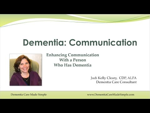 3. Enhancing Communication with a Person Who Has Dementia
