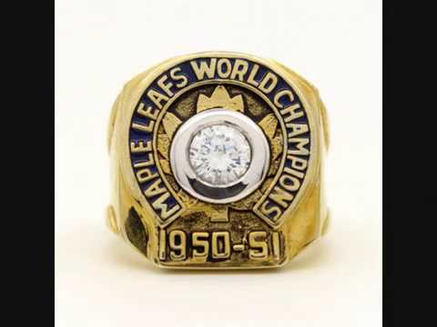 Toronto Maple Leafs NHL Hockey Championship Rings