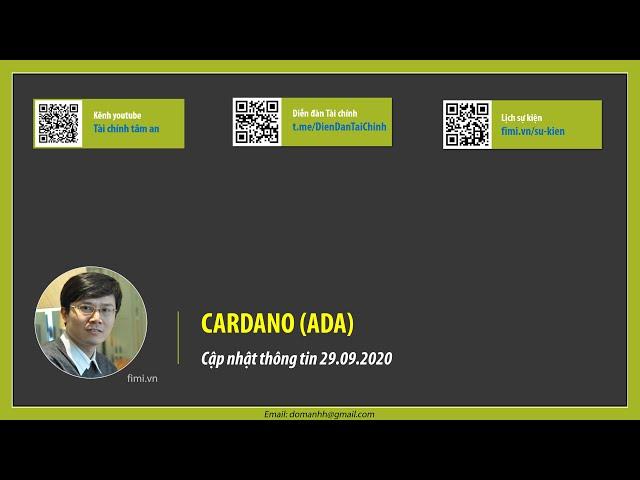 Cập nhật thông tin ADA (29.09.2020)