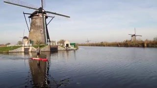 STAND UP PADDLE BOARDING in Amsterdam 2016