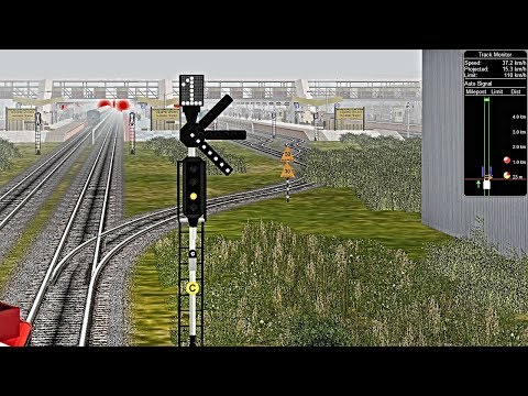 Part 03 || Ahmedabad Mahesana Junction Passenger In MSTS In Open Rail