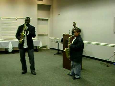 Raymond Boyce featuring Kaylan Gregory-Saxophonist