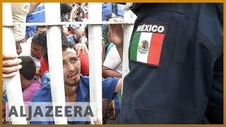 🇺🇸Migrant caravan stopped on Mexico-Guatemala border l Al Jazeera English