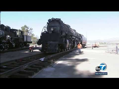 Big Boy 4014: Largest Locomotive Ever Built Back In SoCal After Massive Restoration I ABC7