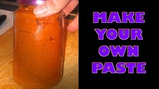 Indian Red Curry Masala Paste (recipe Style Of Western India) Restaurant Method