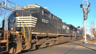 Norfolk Southern Train In Piscataway New Jersey