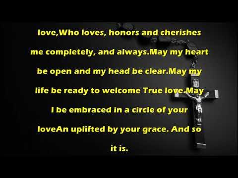 Soulmate Prayer Catholic Prayer By Missaldailycom Youtube
