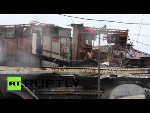 Philippines: Typhoon continues to wreak havoc, killing 38