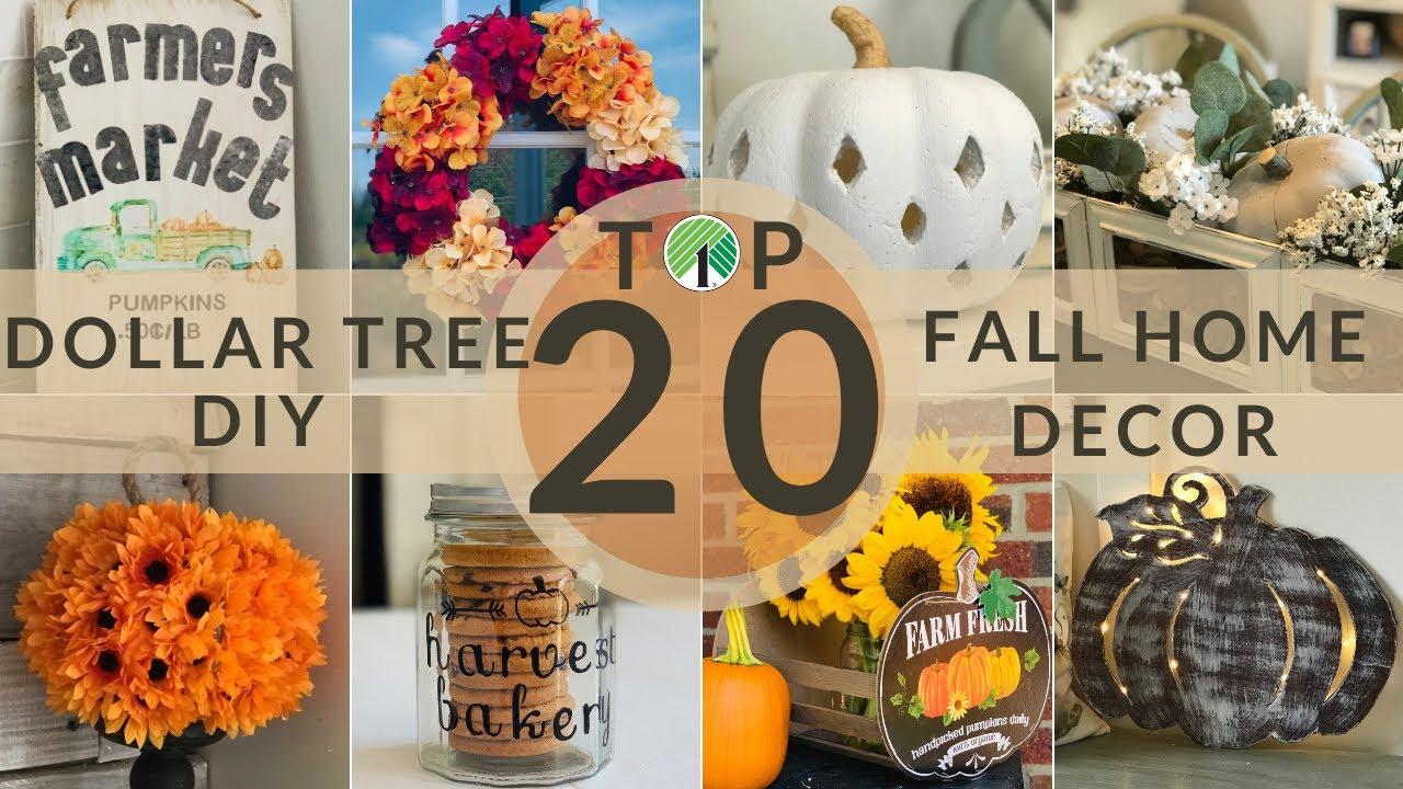 Dollar Tree DIY Fall Halloween Front Porch Decor