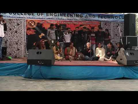 //Hy Hy Wasiye Kashmiri wedding song of Reshma in SSM College of Engineering & Technology Kashmir//