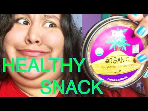 Trying HEALTHY Snacks | Hummus