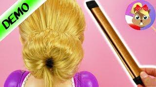Perfekcyjny kok | Fryzura Roszpunki z Hair Bun - Pomoc w robieniu koków | Czy to naprawdę działa?