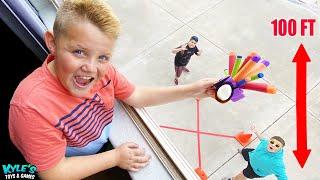Don't Break the Egg! Fun Engineering Challenge for Kids!